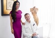 Chồng tự tay phẫu thuật thẩm mỹ cho vợ đẹp như người mẫu