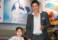 Cựu danh thủ Hồng Sơn đưa con gái út đi sự kiện