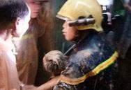 Núi ở Bình Định sạt lở, vùi bé 11 tuổi tử vong