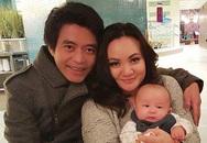 Hình ảnh hiếm hoi của chồng con Xuân Mai
