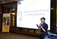 50% người Việt trong độ tuổi trưởng thành thiếu vitamin D