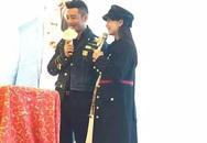 Angelababy khệ nệ bụng bầu đến chúc mừng Huỳnh Hiểu Minh