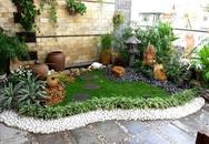 Cách làm sân vườn xanh mát cho nhà phố