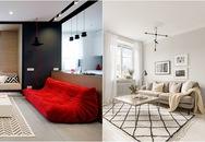 Những mẫu phòng khách chỉ dành cho các căn hộ 50m²