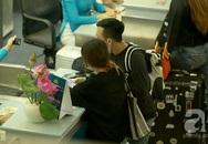 Trấn Thành - Hari Won đeo khẩu trang, tay trong tay hạnh phúc ở sân bay