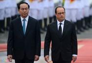 Ngày đầu tiên của Tổng thống Francois Hollande tại Hà Nội