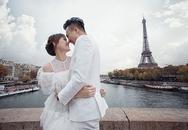Ảnh cưới nhí nhảnh ở Paris của Trấn Thành - Hari Won