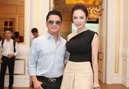 Bằng Kiều lộ chiều cao khiêm tốn khi đứng bên Angela Phương Trinh