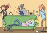 Những chuyện 'dở khóc dở cười' khi sống trong một đại gia đình