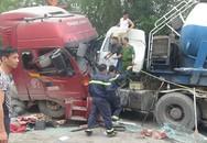 Cắt cabin giải cứu tài xế mắc kẹt sau tai nạn