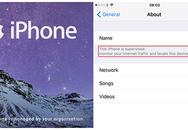 iPhone sẽ cảnh báo khi bị giám sát tại nơi làm việc
