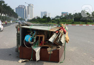 Hà Nội: Xe 3 bánh chở hàng gây tai nạn với xe đạp điện, nữ sinh và tài xế trọng thương