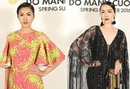Tăng Thanh Hà thanh lịch, Linh Nga khoe ngực phẳng ở show Đỗ Mạnh Cường