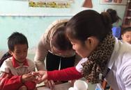 700.000 học sinh tiểu học được tẩy giun miễn phí