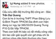 Truy bắt đối tượng liên quan đến vụ cầu cứu Bộ trưởng Bộ công an trên Facebook