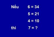 Bài toán tính giá trị của 7
