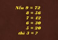 Bạn mất bao nhiêu giây để giải bài toán đơn giản này?