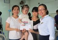 Vòng tay Nhân ái đến với mảnh đời bất hạnh ở BV Việt Đức