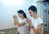 Nghệ sĩ Việt khóc thương khi tới viếng ca sĩ Minh Thuận