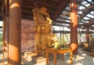 Chiêm ngưỡng bức tượng gỗ lớn nhất Việt Nam
