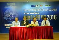 Công bố 20 sản phẩm lọt vào chung khảo Giải thưởng Nhân tài Đất Việt 2016