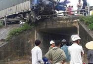Xe tải đấu đầu, 1 người chết 2 người nguy kịch