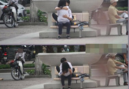Khi giới trẻ vô tư ôm hôn, nói bậy chốn đông người