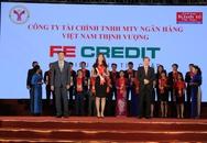 """FE Credit nhận giải thưởng """"Thương Hiệu Mạnh Việt Nam 2016"""""""