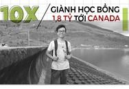 Chàng trai 10X Lâm Đồng giành học bổng 1,8 tỷ tới Canada