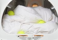 Lí do đằng sau việc vứt bóng tennis vào máy giặt sẽ khiến nhiều chị em bất ngờ