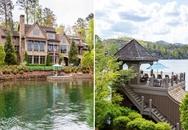 Ngắm biệt thự ven hồ tuyệt đẹp được rao bán 146 tỷ đồng