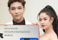 Gọi cho chồng không được, Trương Quỳnh Anh tức giận công khai tin nhắn của Tim với người khác