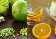 Nhớ tích trữ vỏ cam, chanh để sau lấy ra dọn dẹp nhà cửa sạch bong