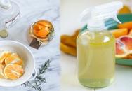 5 phút tự làm bình xịt thơm từ vỏ cam, chanh cho nhà thơm mát suốt ngày