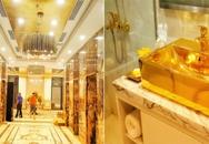 Cận cảnh nội thất gây choáng của khách sạn dát vàng cả bể bơi và toilet ở Đà Nẵng