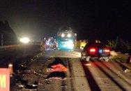 Hình ảnh hiện trường vụ nổ xe khách kinh hoàng ở Bắc Ninh