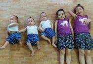 Trải lòng của bà mẹ 9x sinh ba hy hữu, cùng lúc chăm sóc 5 con thơ