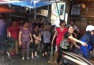 Hải Phòng: Không hề cấm cửa hàng của người phụ nữ bị hắt luyn trộn chất thải vào thịt lợn