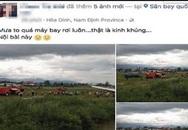 """Cảnh sát triệu tập người tung tin đồn """"máy bay rơi ở Nội Bài"""""""
