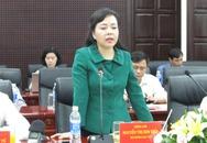 Bộ trưởng Nguyễn Thị Kim Tiến làm việc tại Đà Nẵng