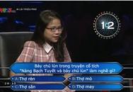 Cô gái thi 'Ai là triệu phú' liên tục nhờ trợ giúp