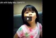 Những màn hội thoại tiếng Anh ấn tượng của cô bé 5 tuổi