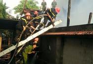 Hải Phòng: Cháy lớn tại xưởng sản xuất nội thất