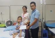 Bạn đọc giúp đỡ bé gái xinh như thiên thần chạy chữa bệnh ung thư máu