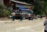 Ô tô mất phanh đâm hàng loạt xe máy ở Sapa