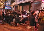 Đà Nẵng: Ô tô 7 chỗ húc văng xe máy vào gầm ôtô khác