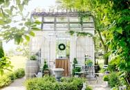 Bạn sẽ thấy như đang sống trong ngôi nhà cổ tích khi bước vào những nhà nhỏ trong vườn này