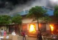 Thông tin mới nhất vụ cháy lớn tại chợ Tân Thanh, nhiều ki ốt bị thiêu rụi