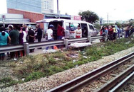 Băng qua đầu tàu hỏa, một tài xế tử vong tại chỗ