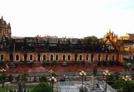 Nhà thờ cổ hơn 130 tuổi tan hoang sau vụ hỏa hoạn giữa đêm